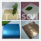 Декоративные плитки металла