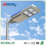 La vente chaude a intégré le réverbère 20W solaire pour la lampe d'utilisation de maison d'éclairage de voie de pays avec le bon prix