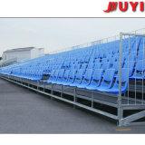 Gimnasio portátil China de Jy-715 de la alta calidad de la tela Tip-up de baloncesto Usado Asiento Estadio Gradas pierna de acero Plataforma de plástico
