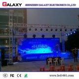 La publicidad al aire libre de interior del alquiler P3.91/P4.81 fijada instala la pared del vídeo de la visualización de pantalla del panel del LED