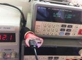 Boîtier coloré durable fait sur commande de chargeur de véhicule de la sûreté USB de véhicule de qualité Emergency de chargeur