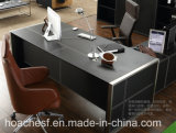 High Good Quality Best Price Office Furniture Desk with Leather (V1)