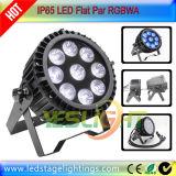 극장 빛을%s 방수 LED 단계 점화 9PCS*12W RGBWA 5in1 LEDs