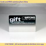 Cartão de presente feito de PVC com fita magnética para férias