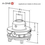 klem van de 72 mm de Lege Houder voor Machine EDM (3A-110026)
