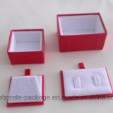 Contenitore di regalo impaccante personalizzato documento variopinto del cartone dei monili