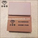 Пусковая площадка диаманта руки смолаы HD-1 полируя для каменного стекла