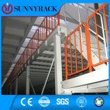 Plataforma de aço do mezanino do armazenamento do armazém