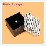 Коробка ювелирных изделий подарка квадратной бумаги