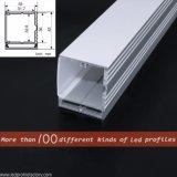 Iluminación comercial del perfil de aluminio de la diapositiva LED de la vista lateral 4127
