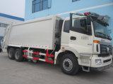 caminhão do compressor do lixo de 6X4 Foton Auman 18cbm