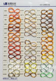 Hilados de polyester teñidos droga Monolifament 45D/1f