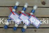 Paquet de promotion en gros Clear Pet Plastic Round Tubes
