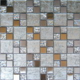 mosaico de cristal de la hoja de oro de 300X300m m (VMW3204)