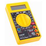 バックライトが付いている3 1/2黄色いカラーデジタル電気マルティメーター