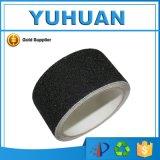 Cinta amonestadora del resbalón anti impermeable negro del PVC