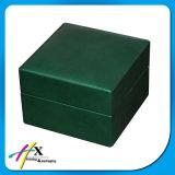 Коробка ювелирных изделий сердца треугольника форменный изготовленный на заказ деревянная с магнитом