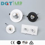 punto ajustable ahuecado redondo Downlight de 10W LED