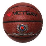 Шарик баскетбола размера 7 PU официальные прокатанный для сбывания