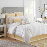 ミニマリズムの縞は綿の羽毛布団カバー寝具セットを印刷した