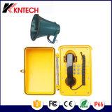 Túnel VoIP à prova de intempéries Telefone Knsp-08 Telefone industrial com Ce Cerficate