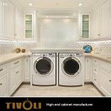 Costruito in melammina dell'armadio ha affrontato l'intera abitudine Tivo-0100VW di falegnameria delle stanze della lavanderia