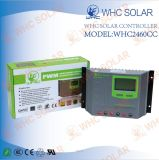 Regulador solar do USB 12V/24V 60A PWM do escudo dos plásticos