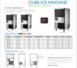Máquina de gelo vertical nova do cubo