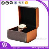 Caixa de relógio de couro PU de qualidade exclusiva PU