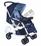 2 Wandelwagen van de Baby van de Luifel van kleuren de Luxe