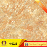 telha de assoalho vitrificada da porcelana de 900X900mm olhar de mármore de pedra natural (H9902B)