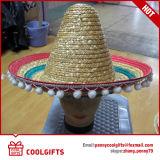 Sombrero de paja mexicano de Sombrebo de la sombrilla grande de la manera