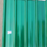 FRP GRP пластмассы усиленной рифленый лист стеклотканью коррозионностойкmNs