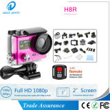 Ультра камера H8r H8 действия спорта камеры 4k WiFi HD с дистанционным управлением делает кулачок водостотьким