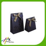Cor Kraft Paper Bag Wine com alça fita