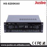 HS-8200kaii LCD van de Hoge Macht Versterker van de Karaoke van het Comité de Correcte Audio