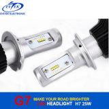 自動ヘッドライトのためのLEDの電球G7 25W 4000lmフィリップスH7 LED車のヘッドライト