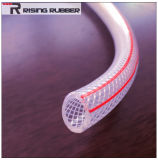 Труба рукава с плетеной внутренней прокладкой PVC гибкия рукава PVC шланга воды PVC спиральн