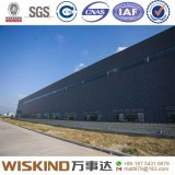 Libérer l'entrepôt préfabriqué par modèle de structure métallique avec la poutre en double T