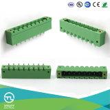 Utl 8 Pin rechtwinkliger Schaltkarte-Verbinder-Klemmenleisten
