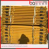 Покрынный порошок/тип стальные упорки Paintig светлый ремонтины для форма-опалубкы