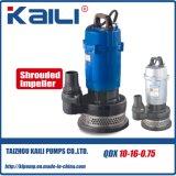 QDX Pompes à eau submersibles électriques (boîtier en aluminium) avec haute qualité
