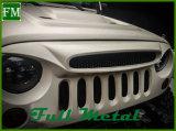 Het nieuwe Verticale Traliewerk van het Spook van de Steen Zwarte voor Jeep Wrangler 2007-2015