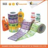 El alimento modificado para requisitos particulares etiqueta etiquetas engomadas y la escritura de la etiqueta del alimento del vinilo