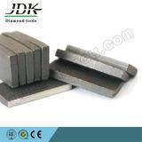 Segmento do diamante do JDK para a estaca do Sandstone
