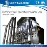 Machine de remplissage et bouteille de liquides et d'aérosols et de pulvérisation automatique complète et automatique