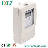 Indicador pagado antecipadamente trifásico do LCD do medidor da eletricidade do Watt-Hour