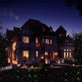 Горячие продавая 8 в 1 напольном лазерном луче сада ливня украшения рождества звезды