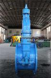 Vanne de gaine en caoutchouc en fer ductile pour tuyau d'eau
