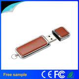 De in het groot 100% Echte Stok 4GB Pendrive van het Leer USB2.0 van de Capaciteit Pu